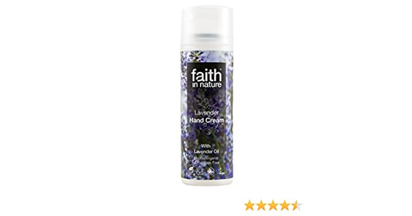 Faith in Nature Hand Cream Lavender Faith In Nature