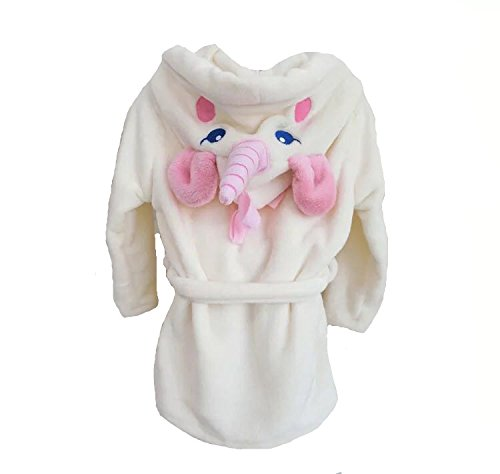 MJTP Einhorn Bademäntel Strampelanzüge für Mädchen und Damen Kinder Cosplay Kostüme Pyjamas (S)