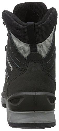 Lowa Sedrun GTX Mid, Chaussures de Randonnée Hautes Homme, Schwarz-Taupe, 9.5 UK Noir (schwarz/grau)