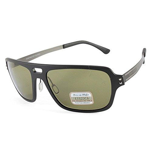 Serengeti Eyewear Sonnenbrille Nunzio, Satin Black, M/L, 7837