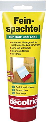Feinspachtel Spachtelmasse für Holz und Lack für innen 400g