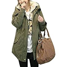 best website 70bab 6f4b9 Amazon.it: parka donna verde