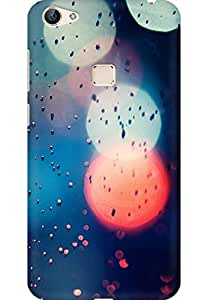 AMEZ designer printed 3d premium high quality back case cover for Vivo X6 (abstract colourful)