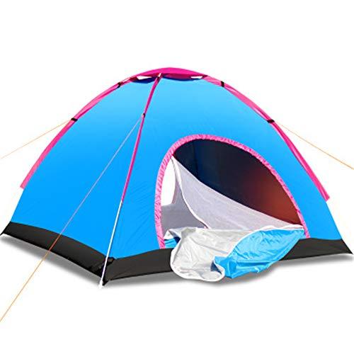 Spfree Outdoor Pop Up Familienzelt Wurfzelt 3-4 Personen Zelt Camping Festival