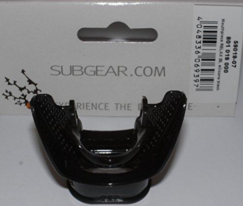 SUBGEAR - Mundstück RELAX 35, Silikon schwarz