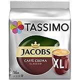 Tassimo Jacobs Caffè Crema Classico Xl (16 Portions) (Pack de 6)