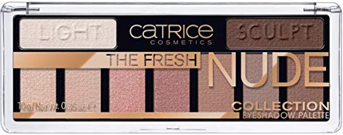Catrice paleta sombras the fresh nude collection 10