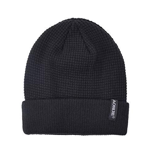 SHOLOV Cappello Uomo Invernali Berretto Caldo in Maglia Donna b8a54270d93b