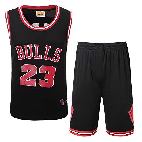 Basketball-Kleidung für Männer und Frauen Jordan 23 Champion Sticktrikot Bulls Chicago Retro-Anzug High-End-Stickerei-Prozess-Jordan3-S