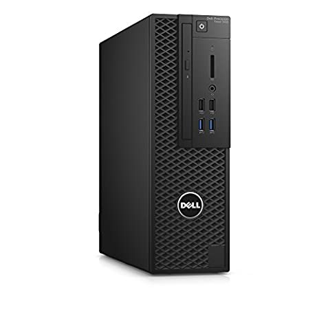 Dell Precision T34203.3GHz i5–6600SFF schwarz Desktop-PC (i5–6600, SFF, 64-Bit, Festplatte, Intel Core i5–6x xx, DVD ± RW)