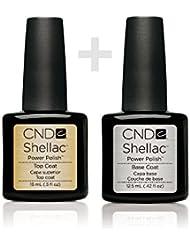 Shellac CND Top + Base Coat 12.5ml Large Size Gel UV3
