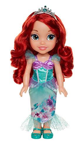 Jakks 78846-11L-6 - Disney Princess Arielle, Puppe ca. 35 cm groß, beweglich, mit wunderschönem Kleid und Royal Reflection Augen, für Kinder ab 3 Jahre