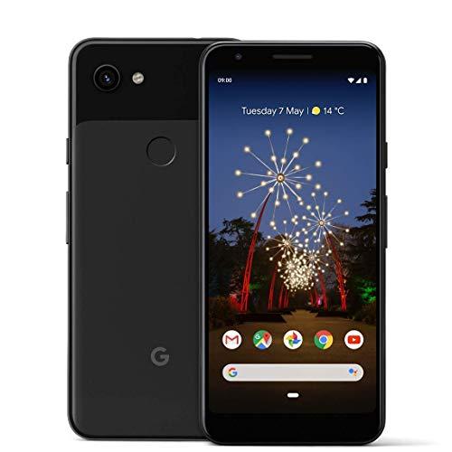 Google Pixel 3a 14,2 cm (5.6') 4 GB 64 GB 4G Negro 3000 mAh - Smartphone (14,2 cm (5.6'), 4 GB, 64 GB, 12,2 MP, Android 9.0, Negro)