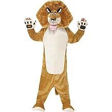 Smiffy's - Disfraz infantil Alex, el león de Madagascar, color marrón (20484S)