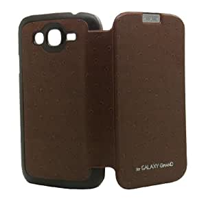 Designer Coffee Flip Cover Case Back For Samsung Galaxy Grand / I9082 Td-6304