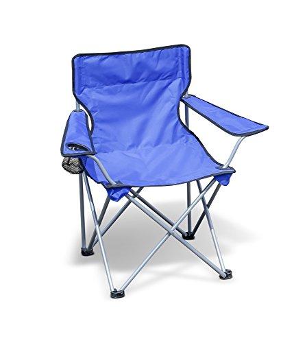 Campingstuhl / Faltstuhl / Anglerstuhl, blau