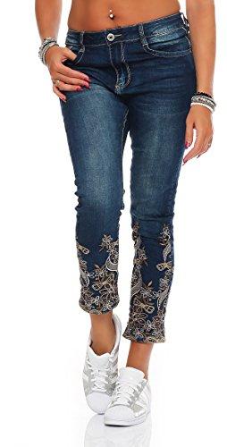 skutari-femme-jean-pantalons-skinny-dechire-troue-paillettes-coleur-bleu-taille-m