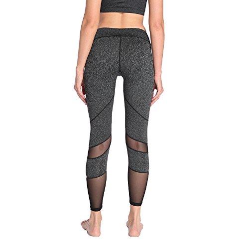 Schnell trocknende Leggings Fitness und Yoga - 5