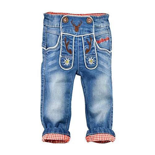 BONDI Jungen Trachten-Jeans Artnr. 91211 Größe 74
