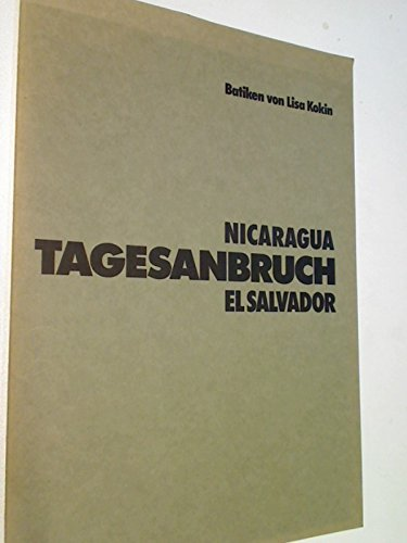 Batiken von Lisa Kokin. Tagesanbruch. Nicaragua, El Salvador -