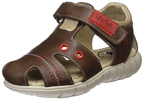 Gorila 40401, Sandales mixte enfant Marron