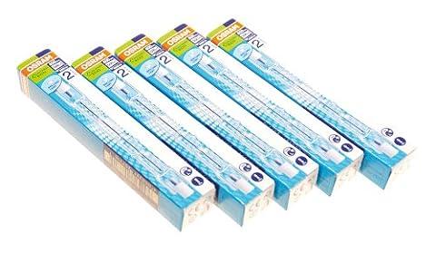 Osram Halogen Stabform 400 W 230 V Sockel R7s 114.2 mm Energy Saver 5-er Pack 64702 ECO