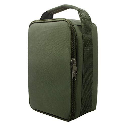 Shaddock Fishing Angelrolle Tasche für Outdoor-Angelausrüstung, wasserabweisend, Aufbewahrung, Angelzubehör, Organizer