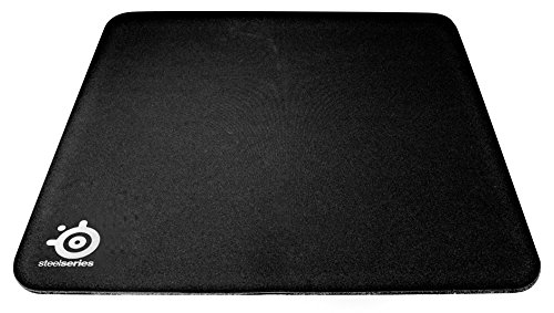 SteelSeries QcK Heavy Gaming-Mauspad (450mm x 400mm, Stoff) schwarz