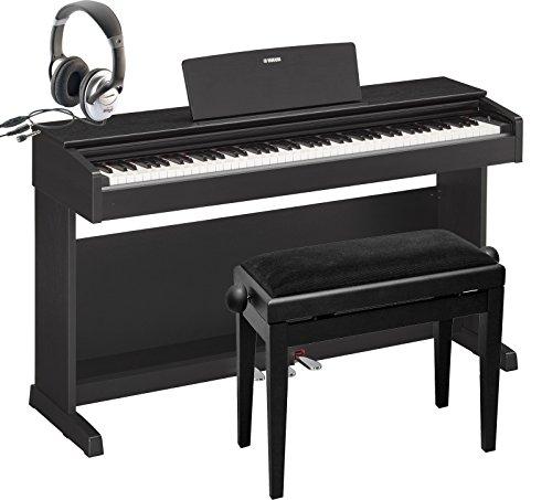 Epiano-Yamaha-YDP143-schwarz-Digitalpiano-SET