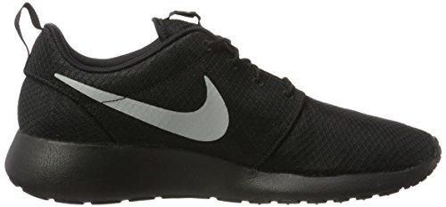 Nike Roshe One, Baskets basses homme Noir (Black/matte Silver/flt Silver)