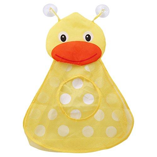 EJY Karikatur Badewanne Netztasche Bad Spielzeug Organizer Netz Aufbewahrungstasche Tasche (Enten) (Bad Spielzeug Organizer)