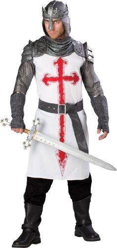 Erwachsene Kostüm Crusader Herren Für - Generique - Kreuzritter-Kostüm für Herren - Deluxe L