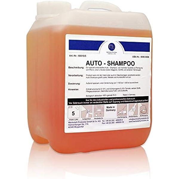 Mw Auto Shampoo Konzentrat Reiniger Autowäsche Waschen Pflege Glanz 5l Baumarkt