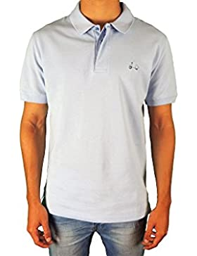 Polo bordado moto vespa original martins - Talla XXL, Blanco