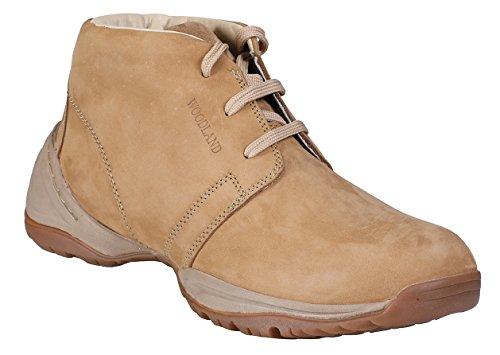Woodland Men's Camel Sneakers-10 UK/India (44 EU)(OGB 1218112)