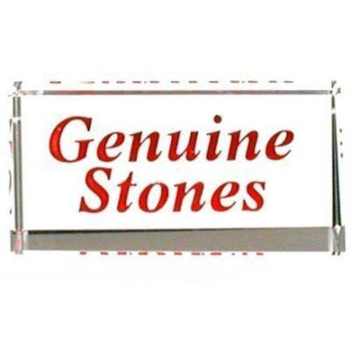 Findingking Lot Pierres Authentiques Bijoux Showcase Comptoir Crystal Sign