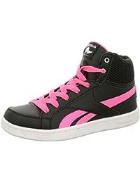 19937b1c1d516 Reebok Ar0794 - Zapatillas de baloncesto de Material Sintético para niña