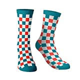 #6: The souled store Cotton and Printed mens womens, Boys and girls Checkered Pattern Socks