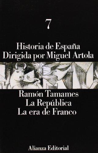 Historia de España: 7. La República. La era de Franco