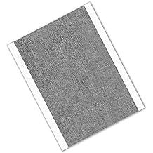 """tapecase 33112""""x 4"""" -25Plata Aluminio/caucho cinta adhesiva convertir de 3M 3311, Ancho 0.0036""""de grosor, Longitud de 4"""", 2"""""""