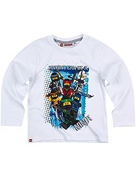 Lego Ninjago Chicos Camiseta mangas largas - Blanco