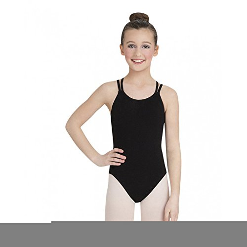 CC123 db strap cami leotard body con intreccio posteriore - Bordeaux