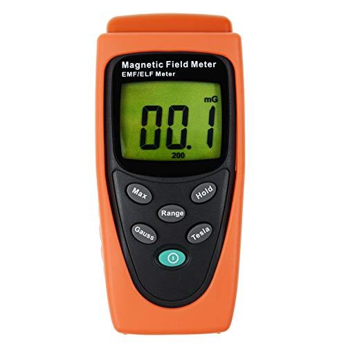Gauss EMF ELF Meter Detektor elektromagnetische Feld mG