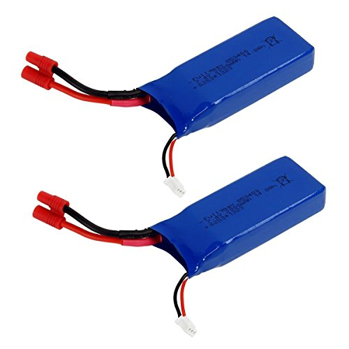 2PCS 7.4v 2000mah Lipo Battery For Syma X8HG X8HW X8HC X8 X8C X8W X8G RC Quadcopter Parts Drone Battery