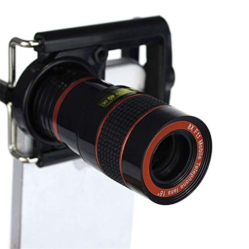 SJSXTLLL 8X Zoom Telephoto Lenses Optical Telescope Camera Lens with Clips for Xiaomi redmi 2 3 S 4 Note 3 MI4 MI5 MI6