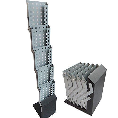 Prospektständer faltbar aus Metall