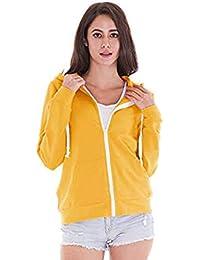 76a5bd9f4b357 Sweat-Shirt À Capuche Patchwork Femmes, Pull Veste Manches Longues Crop  Sweat-Shirt