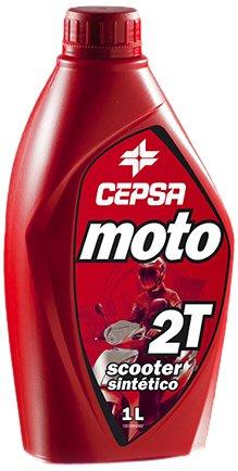 CEPSA 515634187 Synthetic Oil for 2-Stroke Engine
