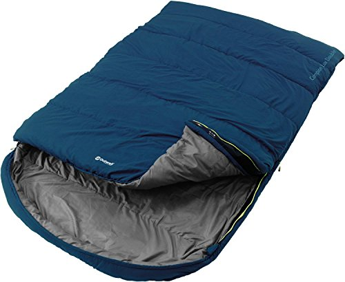 Relags Outwell Schlafsack \'Campion\' - Lux, Double - blau 225 x 140 cm