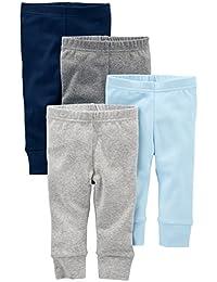 Simple Joys by Carter's pantalón para bebé, paquete de 4